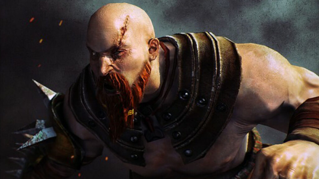 An image showing Barbarian animated character, created with Unity Engine